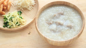 Rice porridge Stock Images
