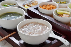 Rice porridge Stock Photography
