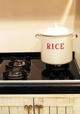Rice pot Stock Images