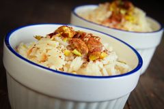 Rice pudding Royalty Free Stock Images