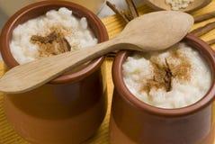 Rice pudding. Arroz con leche. Stock Images