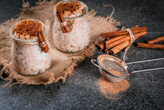 Rice pudding Arroz con leche Royalty Free Stock Images