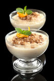 Rice Pudding with Cinnamon Royalty Free Stock Photography