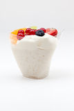 Rice pudding from fruit Royalty Free Stock Photography