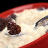 Rice Pudding with Raisin Royalty Free Stock Photos