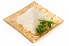 Rice pyramid Royalty Free Stock Photography