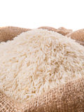 Rice In Sack II Stock Photos