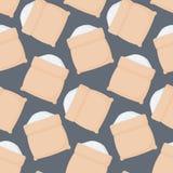 Rice sack  seamless pattern Royalty Free Stock Images