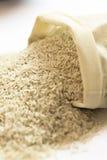 Rice Sack spilling Royalty Free Stock Image