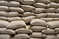 Rice Sacks Royalty Free Stock Images