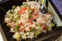Rice salad royalty free stock image