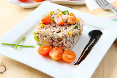 Rice salad Stock Photo