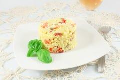 Rice salad Stock Image