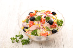 Rice salad Royalty Free Stock Images