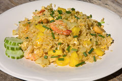 Rice with seafood Stock Images