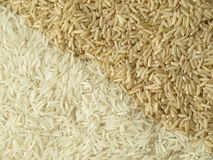 Rice seeds, background Stock Photography
