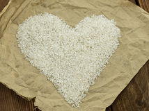 The rice seeds Royalty Free Stock Photography