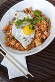 Rice, shrimp and egg Royalty Free Stock Photos