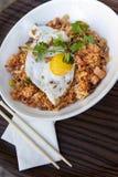 Rice, shrimp and egg Royalty Free Stock Photos