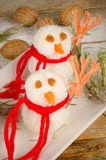 Rice snowmen Royalty Free Stock Images