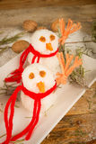 Rice snowmen Stock Images