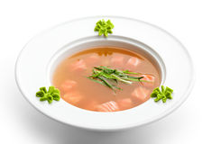 Rice Soup Royalty Free Stock Photo