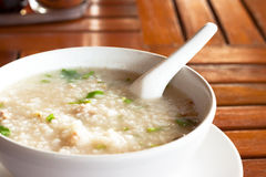 Rice soup Stock Images