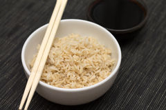 Rice and soy Royalty Free Stock Photos