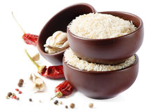 Rice and spices Royalty Free Stock Image