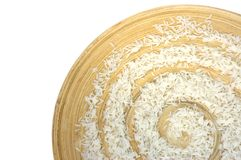 Rice spiral Royalty Free Stock Image