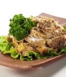 Rice with Stewed Pork Royalty Free Stock Photos