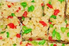 Rice sweets macro Stock Photography