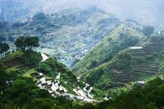 Rice terraces. Banaue, Philippines Stock Image