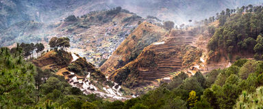 Rice terraces. Banaue, Philippines Stock Photography
