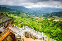 Rice Terraces in China Royalty Free Stock Photos