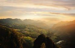 Free Rice Terraces Of Lishui Stock Image - 34488871