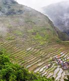 Mountain terraces Stock Image