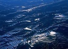 Rice terraces of yuanyang Stock Photos