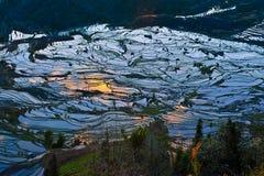 Rice terraces of yuanyang. Ancient rice terraces of yuanyang, yunnan, china Stock Images