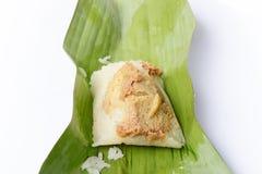 Rice with Thai custard Royalty Free Stock Image