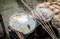Rice toast Royalty Free Stock Photo