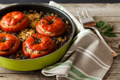 Rice Tomatoes Stock Photography