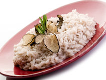Rice with truffle Stock Photos