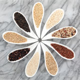 Rice Types Stock Image