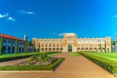 Rice University, Houston, Teksas zdjęcie stock