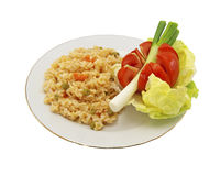 Rice and vegetable Royalty Free Stock Image