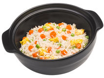 Rice with vegetable Stock Photography