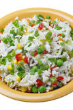 Rice with vegetables. Royalty Free Stock Photos