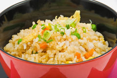 Rice and vegetables 2 Royalty Free Stock Photography