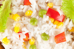 Rice with vegetables Royalty Free Stock Photography